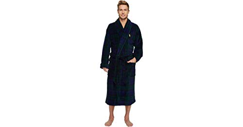 (Polo Ralph Lauren Men's Plush Bath Robe S/M)