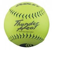 Dudley USSSA Thunder Heat Slow Pitch Classic M Stamp Softball Synthetic Cover 12 pack 4U-552Y