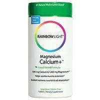 Rainbow Light Magnesium Calcium+, 180 Tablets Pack of 2