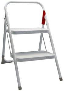 Rolser - Taburete escalera blanco m-10 une: Amazon.es: Bricolaje y herramientas