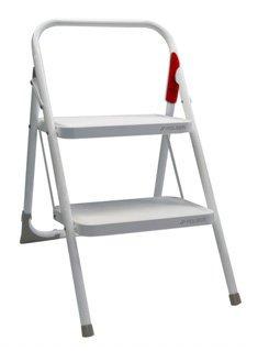 Taburete escalera blanco m-10 une Rolser