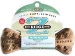 Zuke's - Z-Ridge Dental Bone, Carrot Fresh Breath, Medium