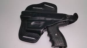 JPX 4 Shot Leather Holster- Gun not included by FireStorm