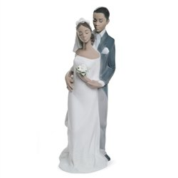Lladro Forever Yours Porcelain Figurine/Cake Topper (Wedding Figurine Lladro)
