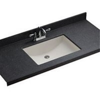 Swanstone UC-1913-018 Bisque Contour Contour 19'' x 13'' Undermount Bathroom Sink by Swanstone