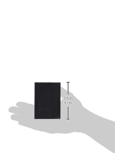 62 x 87mm 50 Piece Matte Black Barrier Mini Card Sleeves