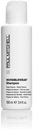 Shampoo & Conditioner: Paul Mitchell INVISIBLEWEAR