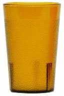 Cambro 8 Oz Hot/Cold Plastic Tumblers, Yellow, Pack of 72 (800P153) Category: Plastic Cups