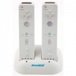 White Charging Dock Dual For Nintendo Wii™