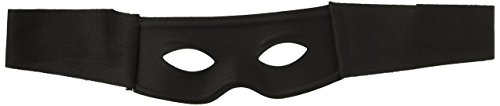 Forum Novelties Black Half Mask