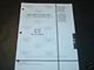 2001 JOHNSON OUTBOARD 40 JET, 60, 70 HP PARTS MANUAL (70 Hp Parts Manual)