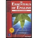 The Essentials of English : A Writer's Handbook, Hogue, Ann, 0130309737