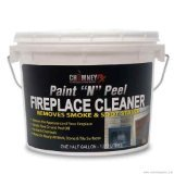 ChimneyRX Paint and Peel Fireplace Cleaner - 1/2 Gallon (Brick Cleaner Fireplace)