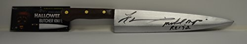 Tyler Mane signed Halloween The Movie Butcher Knife - Michael Myers RZ 1 & 2 (Halloween Movie Props)