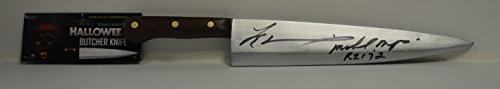 Tyler Mane signed Halloween The Movie Butcher Knife - Michael Myers RZ 1 & (Tyler Mane Halloween)