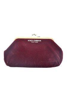Dolce & Gabbana pour femme - burgundy clutch/purse evening bag