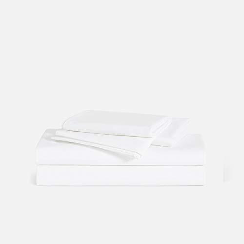 (Brooklinen Luxe 4 Piece Bed Sheet Set - 100% Long Staple Cotton - Queen )