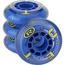 True Sport 72mm Recreational Wheel (4 Pack) - Clear/Blue 72 mm / 82A