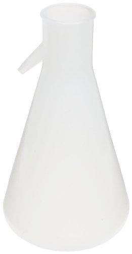 Nalgene DS4101-0500 Polypropylene 500mL Filtering Flask with Angled Tubulation ()