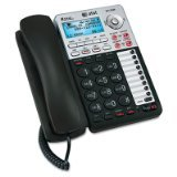 ATandT 17939 Corded Phone, Black/Silver, 1 Handset, Office Central