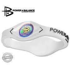 Power Balance Wristband Bracelet lettering