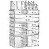 ZHIAI Organizer Dresser Cosmetic Storage