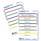 - Avery 05202 Permanent Filing Labels, 11/16