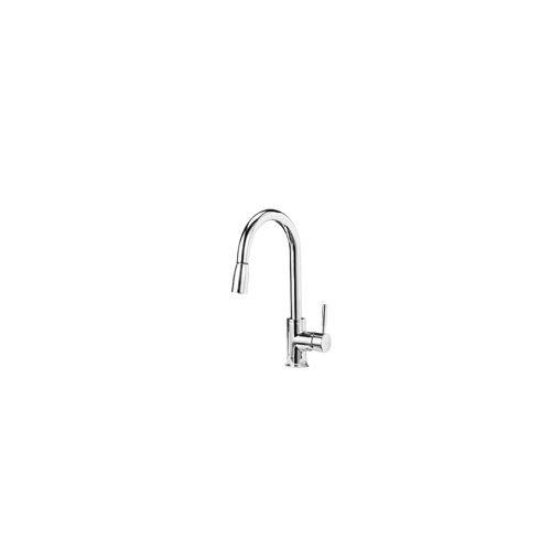 Blanco 441646 Kitchen Sonoma Faucet Single Handle; Chrome