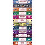 - Set of 12 Nag Champa, Super Hit, Sandalwood, Patchouli, Mystic Rose, Vanilla, Prana, Natural, French Lavender, Opium, Egyptian Jasmine, Champa by Satya