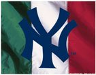 """MLB New York Yankees 72368091 Multi-Use Colored Decal, 5"""" x 6"""""""