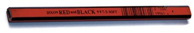 Dixon 19971 7'' Soft Carpenter Pencil - 72 per Box