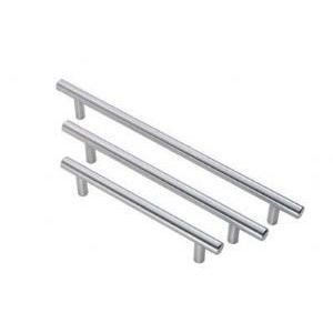 Frelan JSS110A 156mm T-Bar Cabinet Handle - Silver
