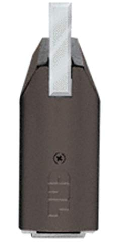 CRL Black Bronze Anodized 4; Tapered Sidelite Rails - Rail Sidelite Tapered 4