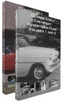 Promotional Four - Classic Early Chevrolet Advertising Films Complete 4 DVD Set - Vintage Chevy Promotional Films from the 1930's to 1960.