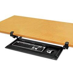 ** DeskReady Keyboard Drawer, 19-3/16 x 9-13/16, Black Pearl **
