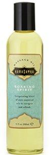 Kamasutra Soaring Spirit Aromatic Massage Oil 8 Oz.