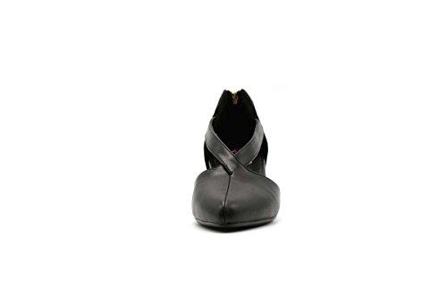 Shoebox Kicks Jester Ballerina Flats Black 48y8Ro
