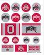 Wincraft NCAA Ohio State University Vinyl Sticker Sheet, 5'' x 7''