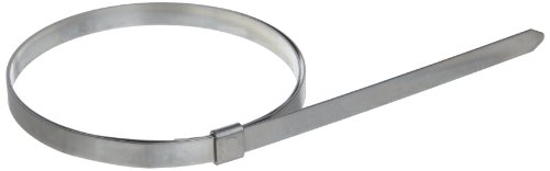 BAND-IT JS2599 Junior 1/4'' Wide x 0.020'' Thick, 4-1/2'' Diameter, 201 Stainless Steel Smooth I.D. Clamp (100 Per Box) by Band-It