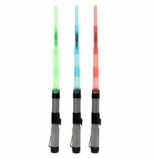 Lightsaber Light Saber Telescopic Sword Light Sound Cosplay Toy (Green) by Completestore