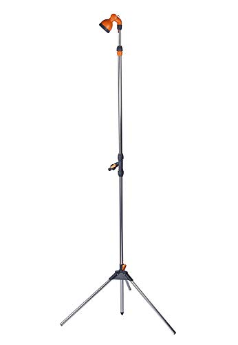 (Camplux Portable Poolside Outdoor Garden Shower with Tripod Stand)