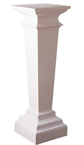 "Global Views Luxe 48"" Tall Colonial Williamsburg Pedestal 