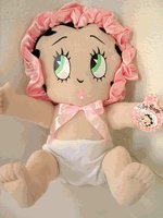 """12"""" Baby Betty Boop Plush Doll, used for sale  Delivered anywhere in USA"""