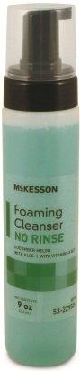 McKesson Perineal Wash Foam Bottle with Foaming Pump 9 oz CS/12