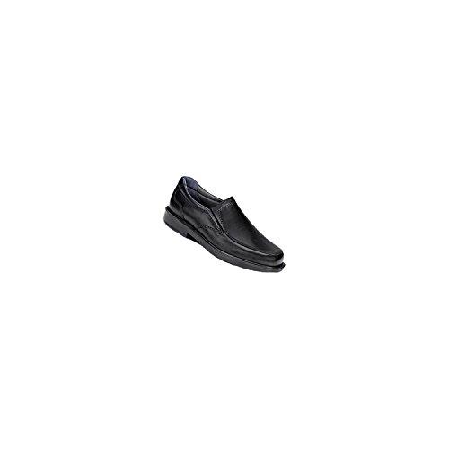 Sas Mens Diplomat Loafer, Svart Läder (9.5w)