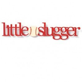 Embellish Your Story Little Slugger Magnet - Embellish Your Story Roeda ()