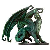 D & D Minis: Large Green Dragon # 38 - War of the Dragon Queen