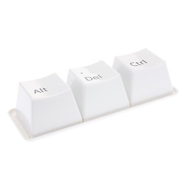 QINF Ctrl + Alt + Del Pattern Keyboard Style 350ml Cup Set