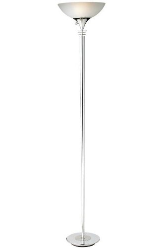 Adesso Metropolis 71.5 in. Floor Lamp - Adjustable Height, Smart Outlet Compatible. Freestanding ()