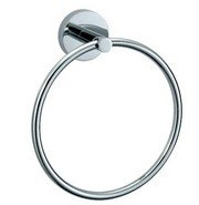 Matco-Norca 7'' Round Chrome Plated Towel Ring Padova Collection